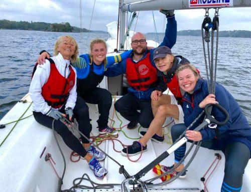 Tack för trevlig segling Swedish Women's Match Racing Team!