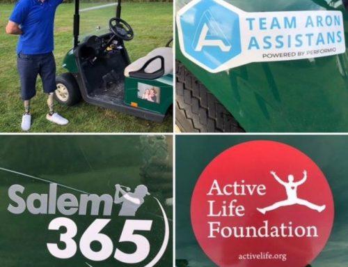 Active Life Foundation har beviljat bidrag till en golfbil till Hempa Posse