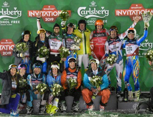 SkiStar VM-vlogg SkiStar Invitational; Stenmark, Aamodt och Pärson m fl kör för Active Life Foundation