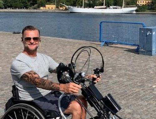 Niclas Rodhborn uttalar sig om vilken skillnad Active Life gjort i hans liv
